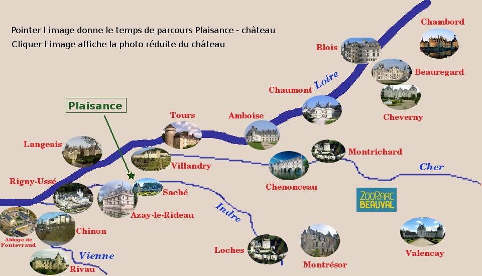 La Carte Interactive Propose Ci Dessous Fixe Localisation Du Domaine Par Rapport Aux Principaux Chteaux